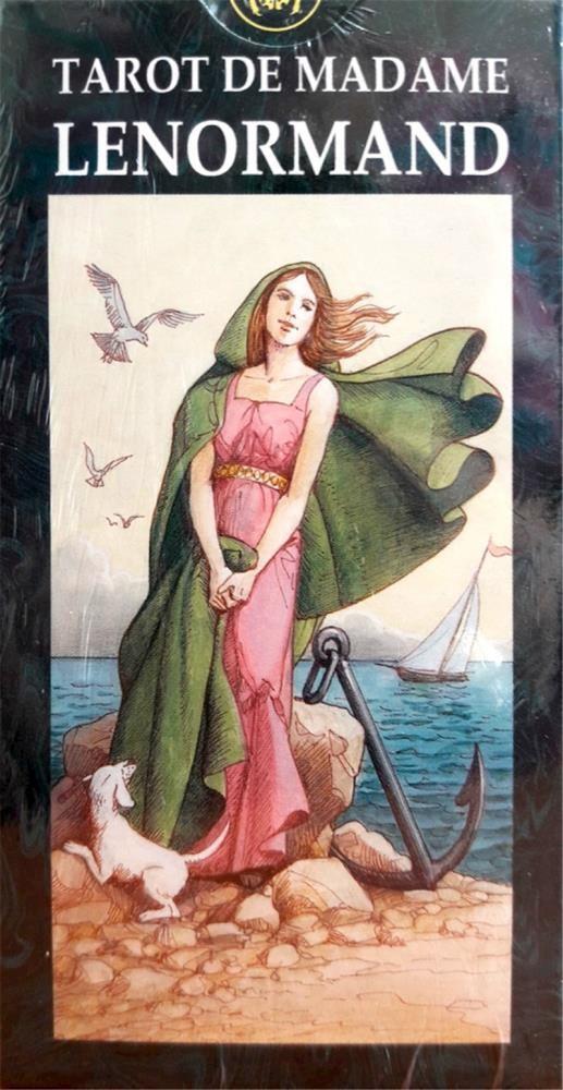 Papel De Madame Lenormand (Libro + Cartas) Tarot