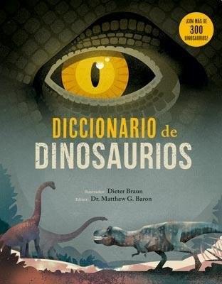 Papel Diccionario De Dinosaurios  Td