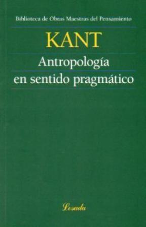 Papel Antropologia En Sentido Pragmatico (Omp.99)