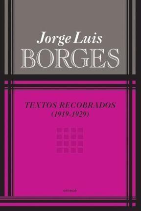 Papel Textos Recobrados 1919 1929 Nueva Edicion