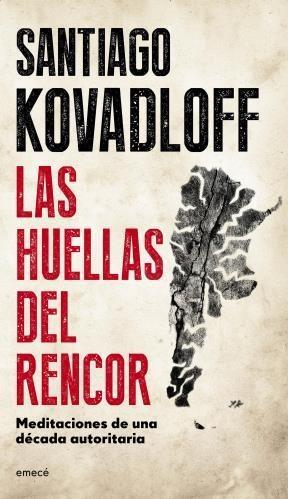 Papel Huellas Del Rencor, Las