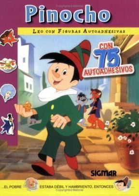 Papel Pinocho (Leo Con Figuras Autoadhesivas)