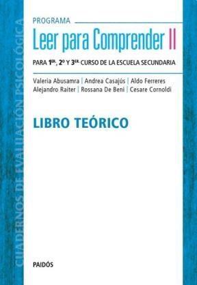 Papel Programa Leer Para Comprender Ii - Libro Teorico