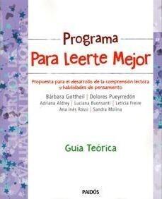 Papel Programa Para Leerte Mejor Guia Teorica Docente