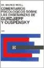 Papel Comentarios Psicologicos Sobre Las Enseñanzas De Gurdjieff Y Ouspensky. Tomo 3