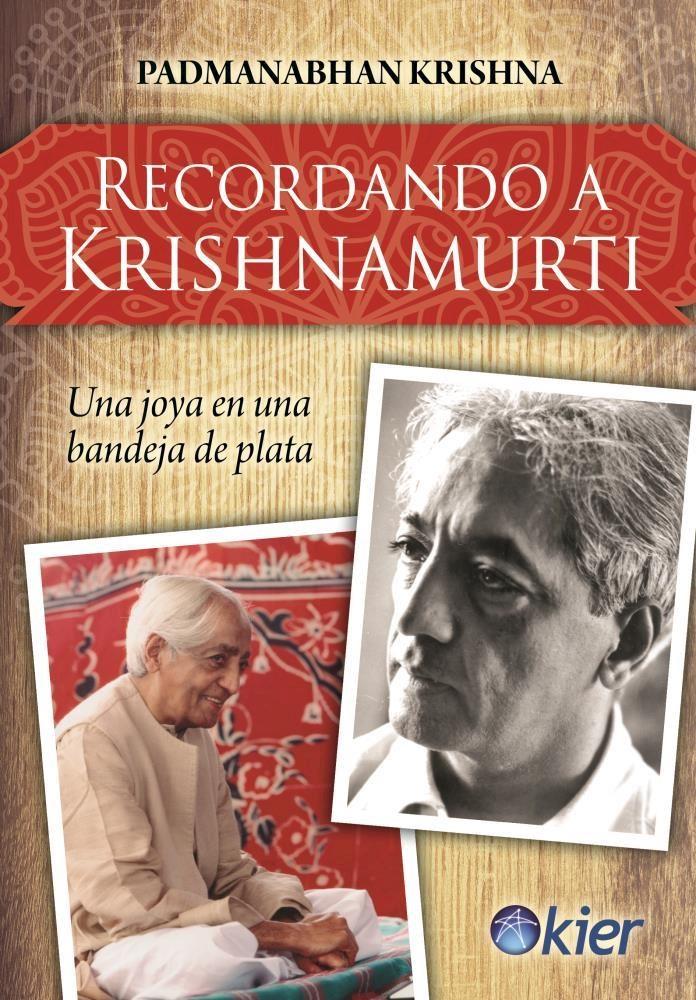 Papel Recordando A Krishnamurti