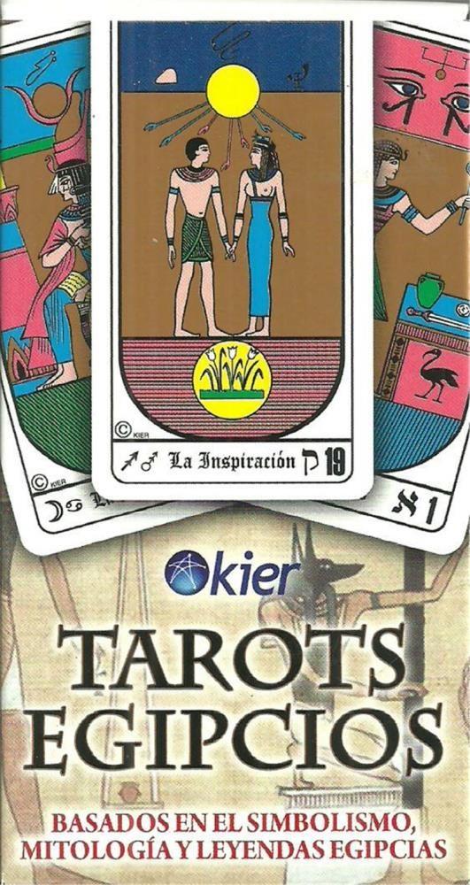 Papel Tarots Egipcios Mazo