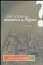 Papel Que Ocultan Los Misterios De Egipto