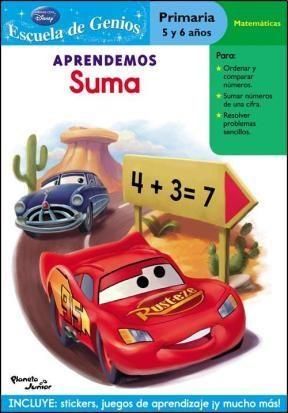 Papel Aprendemos Suma. Cars