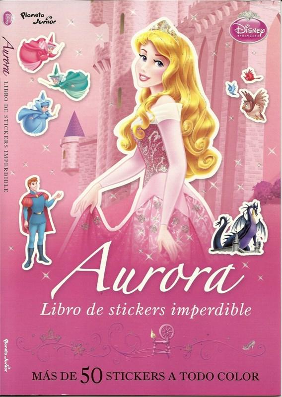 Papel Aurora. Libro De Stickers