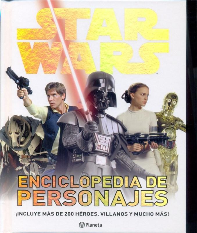 Papel Star Wars Enciclopedia De Personajes