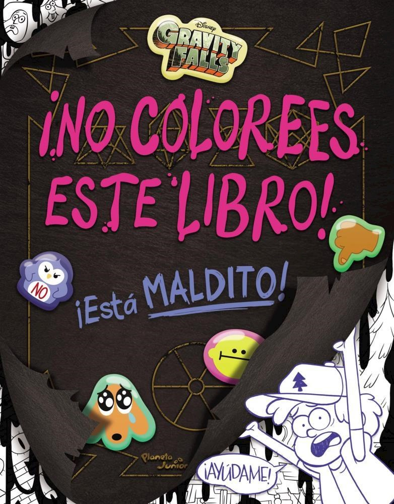 Papel Gravity Falls. Ino Colorees Este Libro!