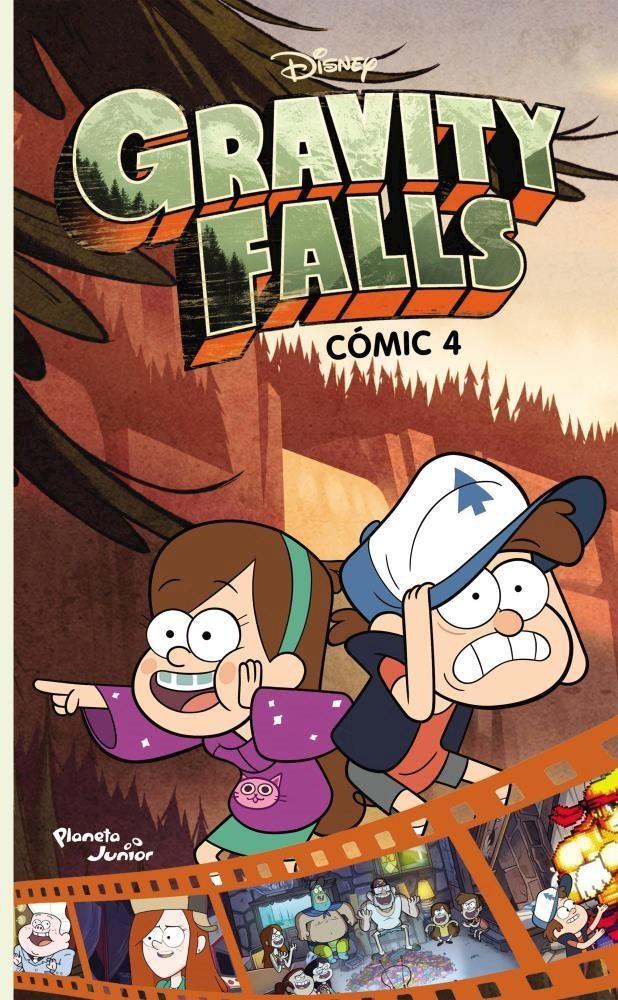 Papel Gravity Falls  Comic 4
