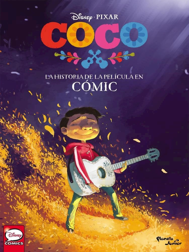 Papel Coco La Historia De La Pelicula En Comic