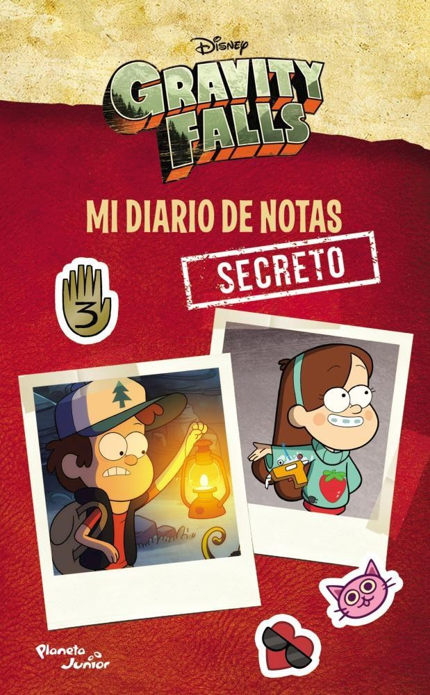 Papel Gravity Falls. Mi Diario De Notas Secreto