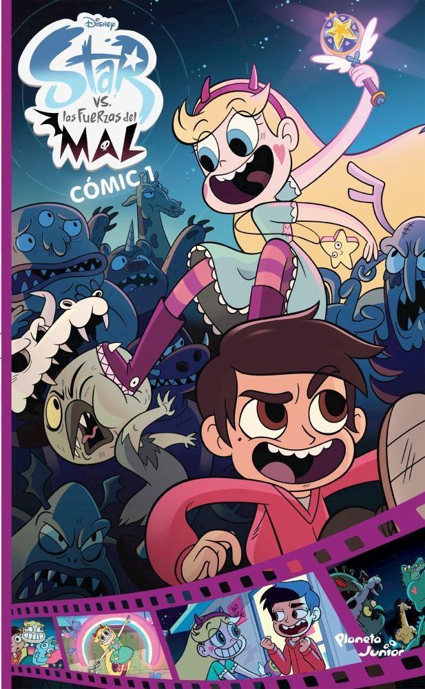 Papel Star Vs Las Fuerzas Del Mal Comic 1