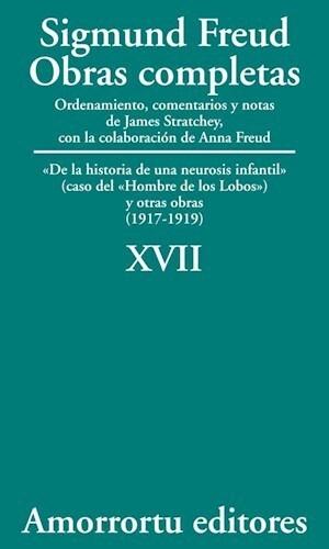 Papel Obras Completas 17 Sigmund Freud