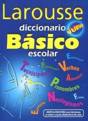 Papel Diccionario Basico Escolar Nuevo