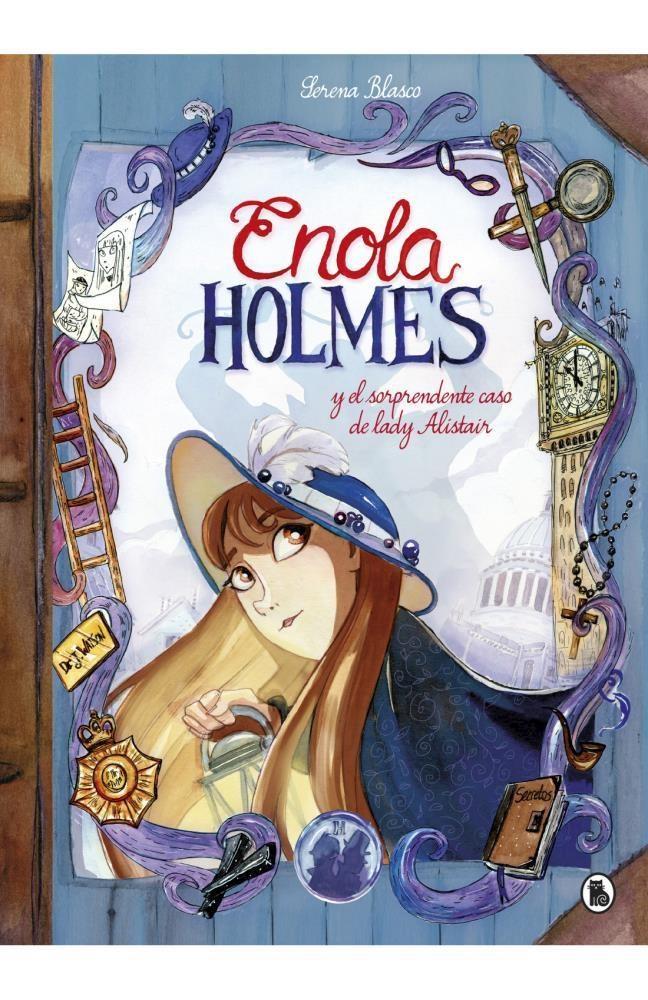 Papel Enola Holmes Y El Sorprendente Caso De Lady Alistair