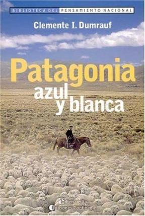 Papel Patagonia Azul Y Blanca