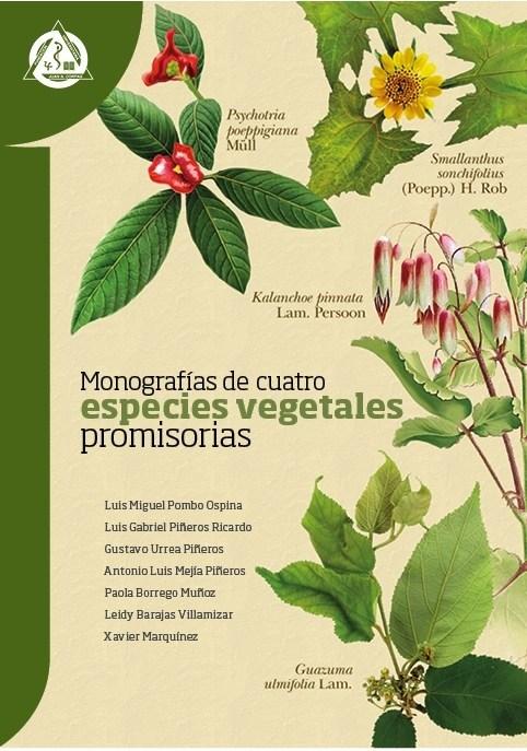 Papel Monografias De Cuatro Especies Vegetales Promisorias