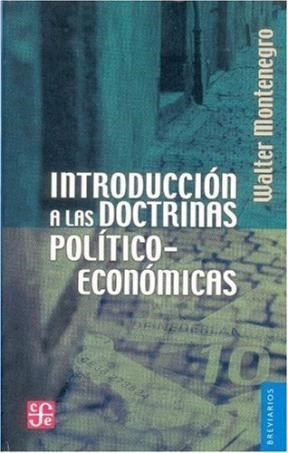 Papel Introduccion A Las Doctrinas Politico-Economicas