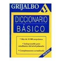 Papel Diccionario Basico Grijalbo (N