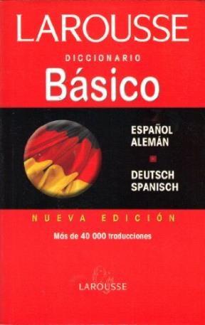 Papel Diccionario Basico Español-Aleman Deutsch Spanish