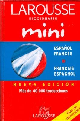 Papel Diccionario Mini  Espa?Ol Frances  Frances Espa\Ol  + Guia D