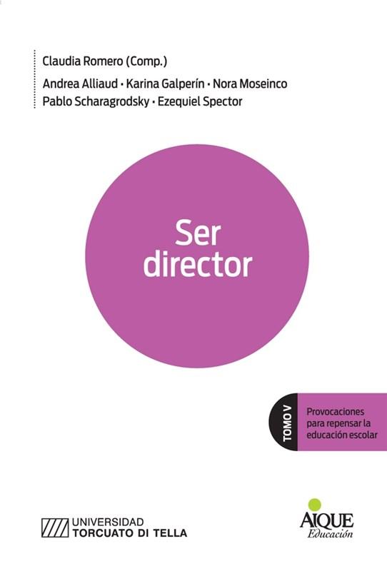 Papel Ser Director  ( Tomo V)