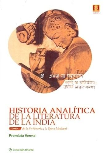 Papel Historia Analitica De La Literatura De La India Tomo 2