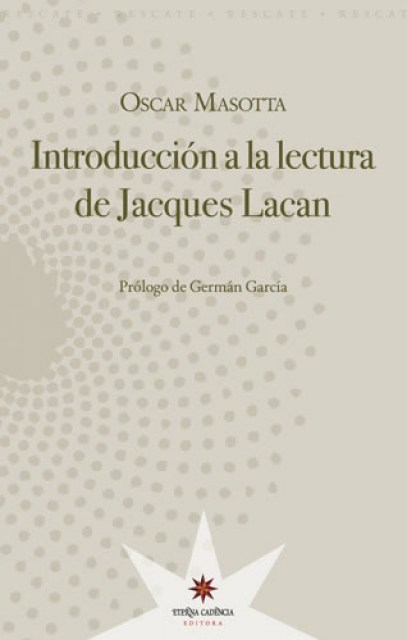 Papel Introduccion A La Lectura De Jacques Lacan