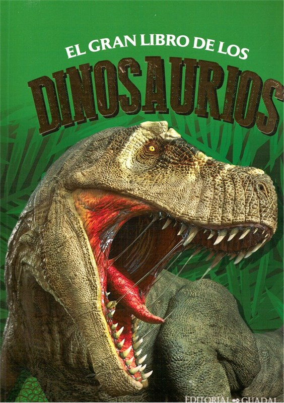 Papel Gran Libro De Los Dinosaurios, Los