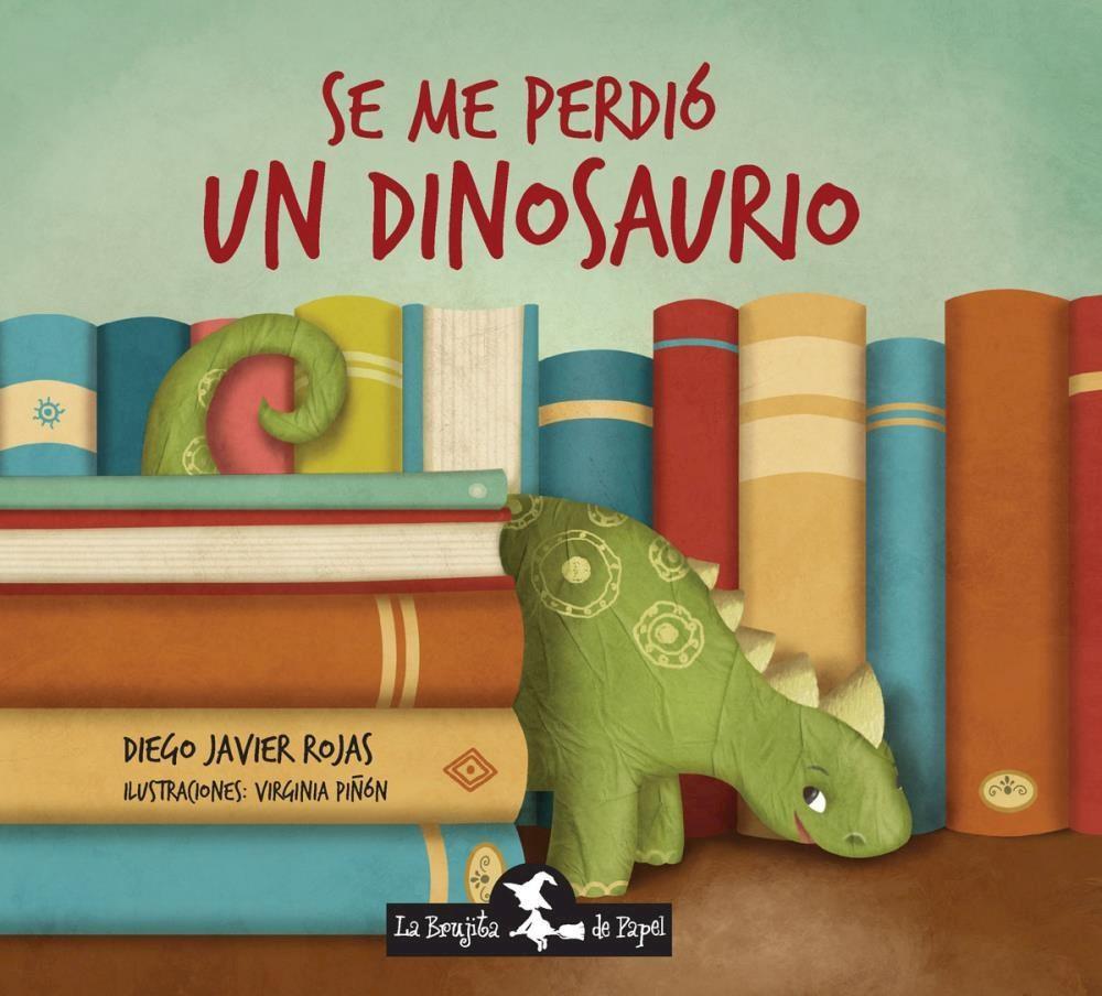 Papel Se Me Perdio Un Dinosaurio