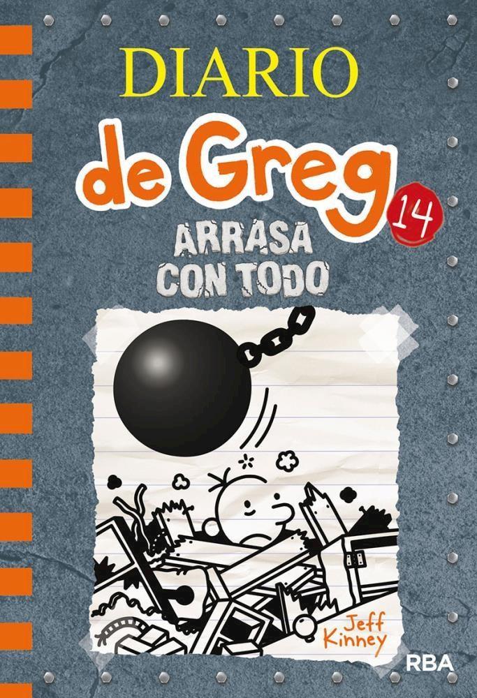 Papel Diario De Greg 14 Arrasa Con Todo
