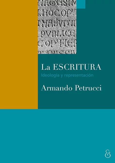 Papel Escritura, La Ideologia Y Representacion