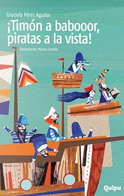 Papel !Timon A Babor, Piratas A La Vistai