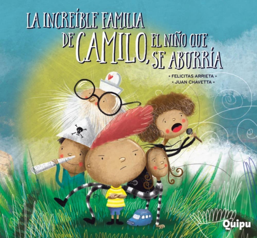 Papel Increible Familia De Camilo, El Ni?O Que Se Aburria- Rust, L