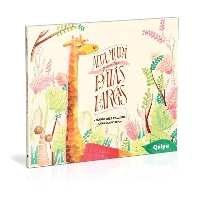 Papel Alta Muda Y Con Las Patas Largas - Cartone -Ed Especial