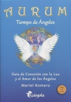 Papel Aurum Tiempo De Angeles ( Libro Con Cartas )