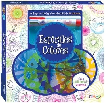 Papel Espirales De Colores