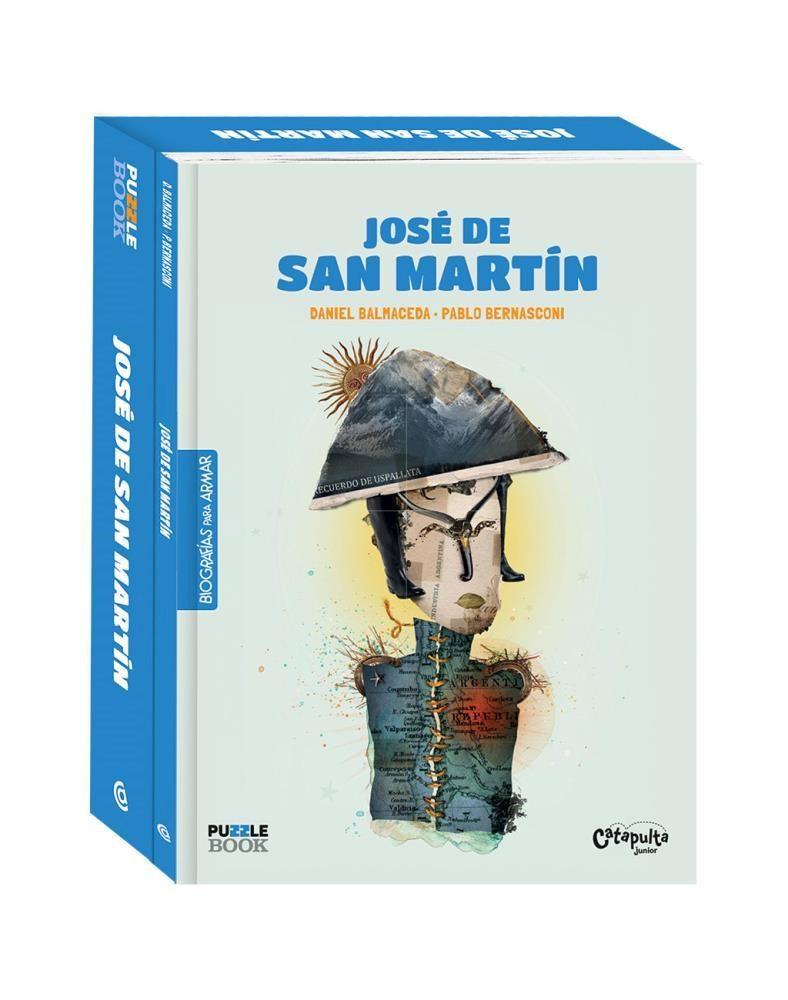 Papel Jose De San Martin. Biografias Para Armar