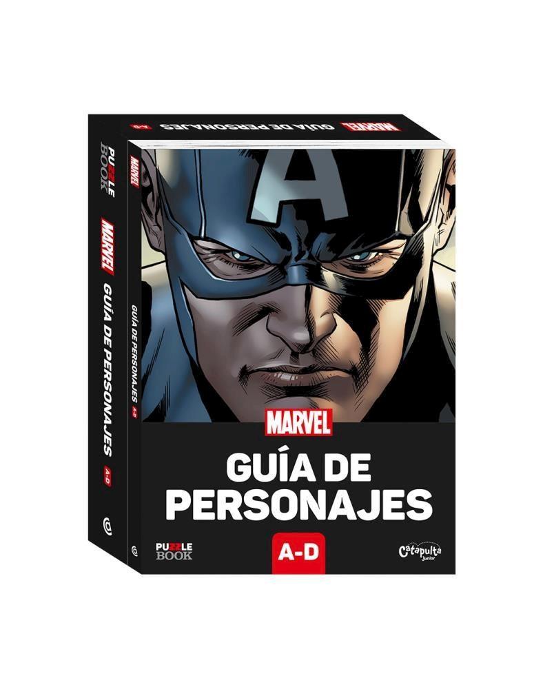 Papel Guia De Personajes Marvel A-D