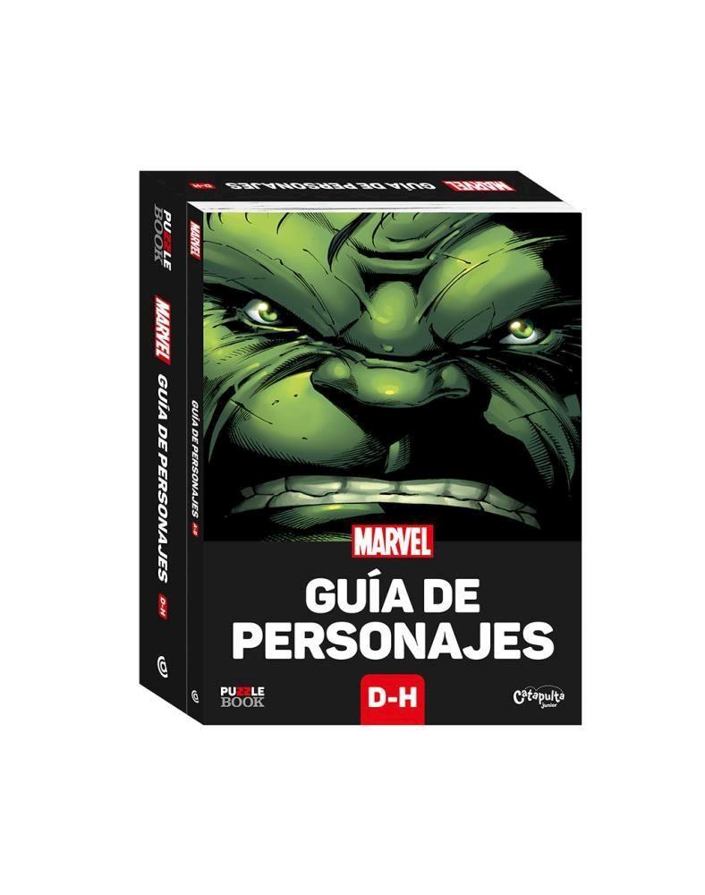 Papel Guia De Personajes Marvel D-H