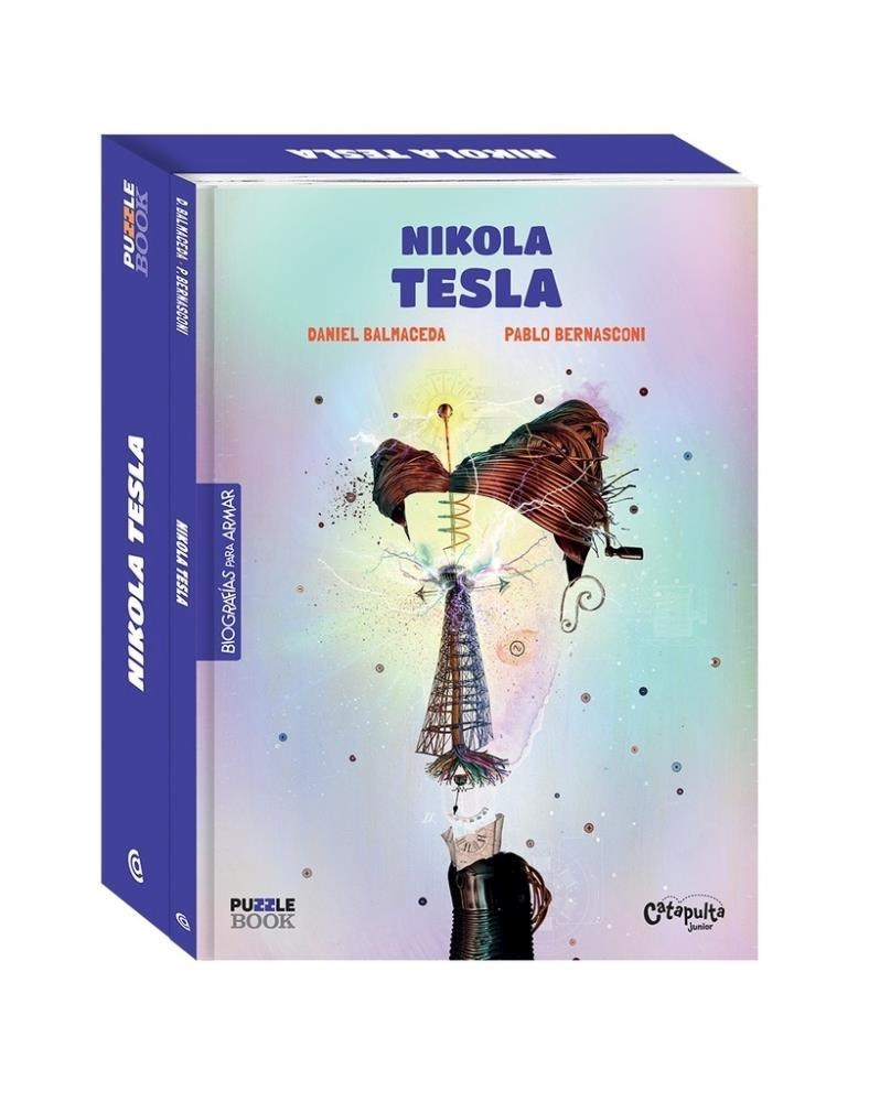 Papel Nikola Tesla - Libro Puzzle