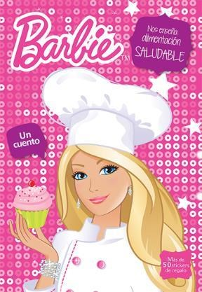 Papel Barbie Nos Ense?A Alimentacion Saludable
