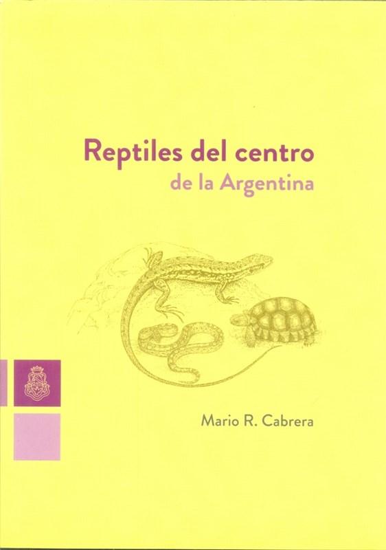 Papel Reptiles Del Centro De La Argentina