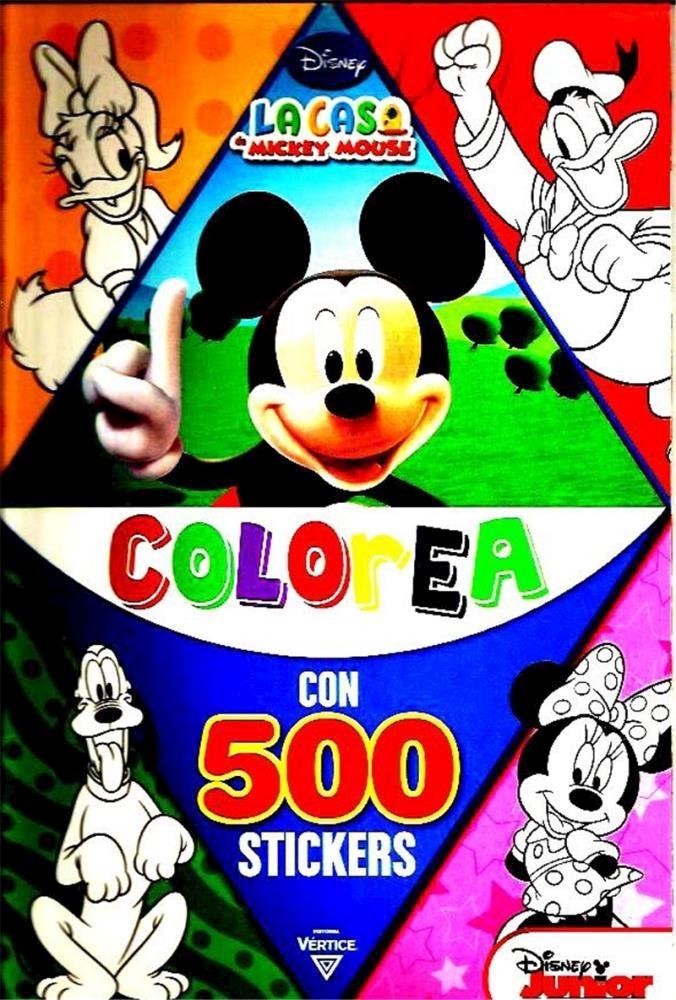 Papel Nø2 Disney. La Casa De Mickey Mouse