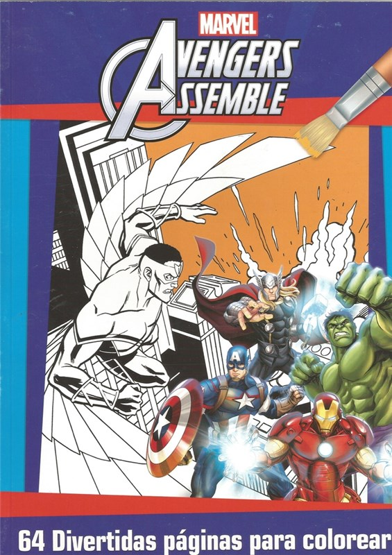 Papel Marvel Super Colouring N?3