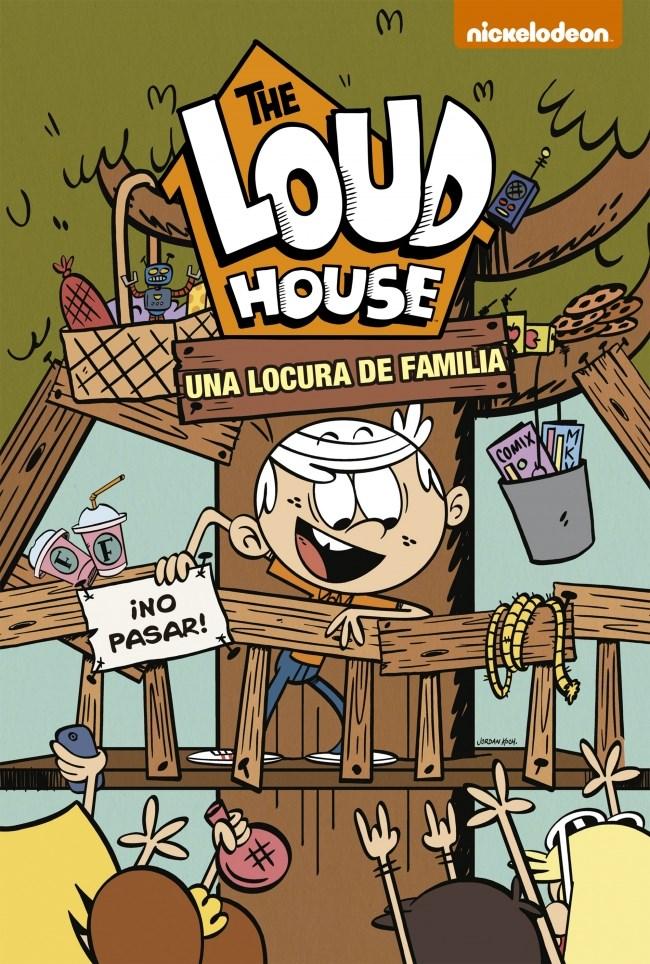 Papel Una Locura De Familia (Loud House 3)